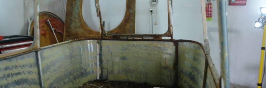 Wohnwagen restaurieren: technischen Restauration