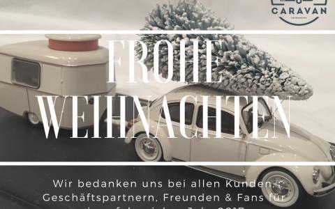 Frohe Weihnachten wünscht Vintage-Caravan.de