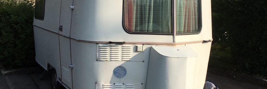 Verkaufsangebot: Triton Oldtimer-Wohnwagen Baujahr 1976 der Marke Hymer / Eriba